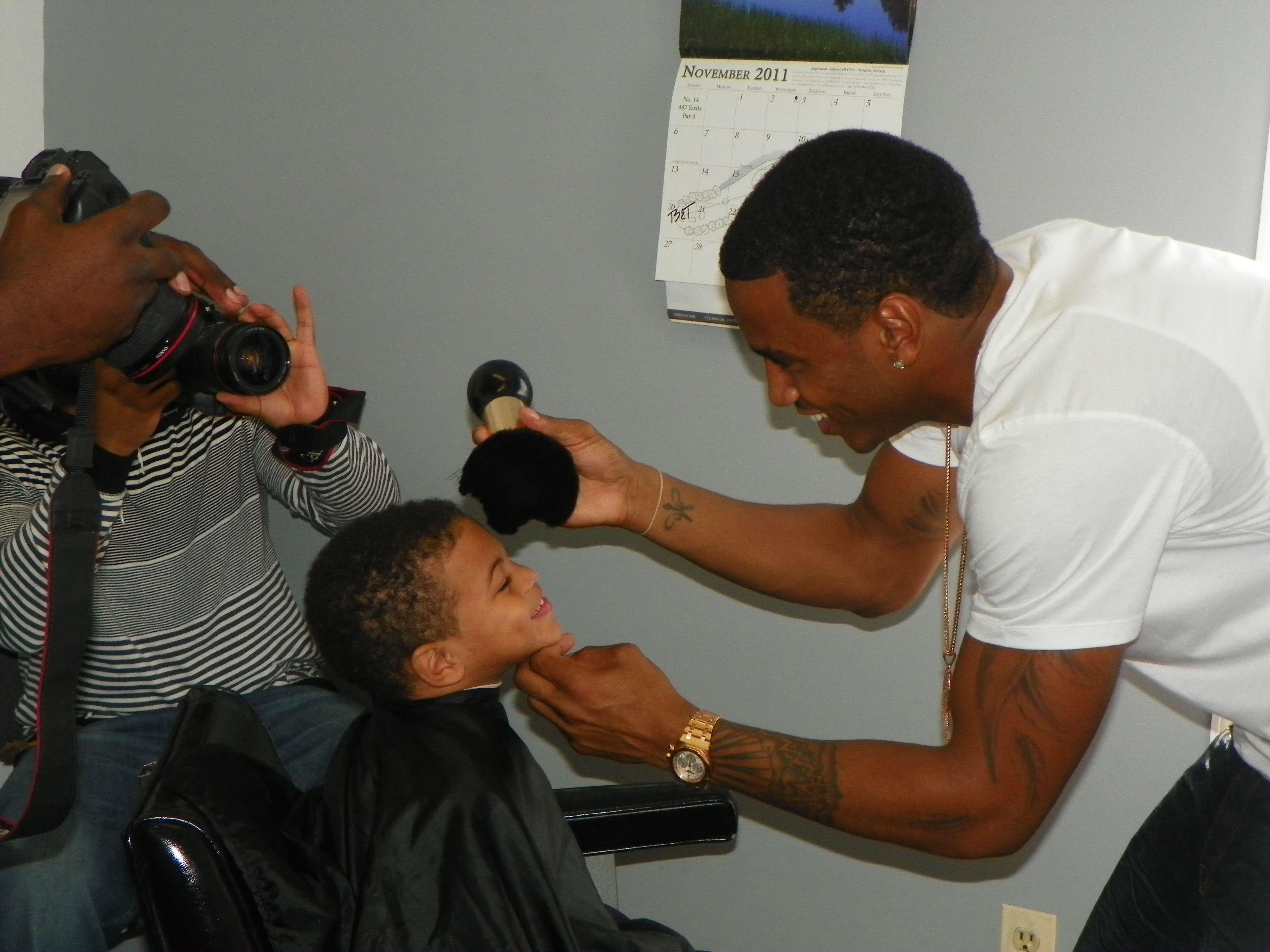 Trey Songz giving back to the community